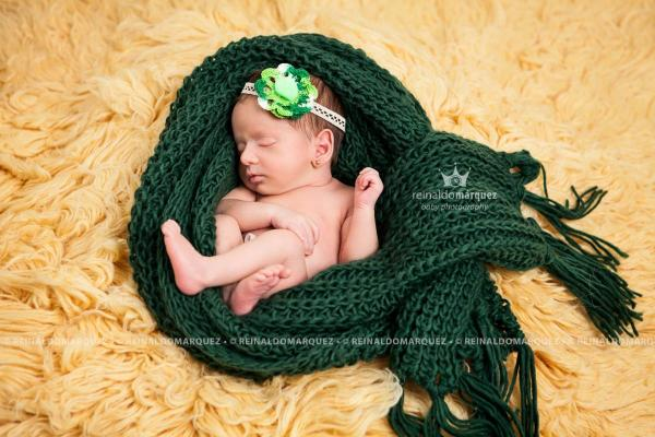Sesión de fotos de recién nacidos