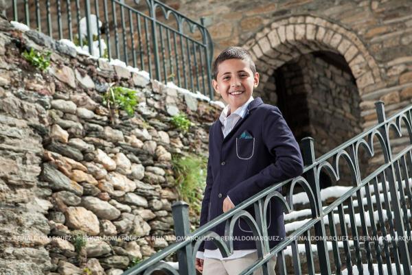 Sessió de fotografia de la primera comunió Andorra