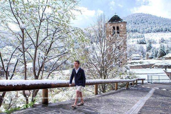 Primera sessió de fotografia de comunió Andorra